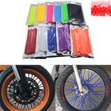 Motorcycle Motorcross Pit Dirt Bike Enduro Off Road Rim Wheel spoke skins cover For Yamaha Ducati KTM Suzuki Honda Kymco ATV