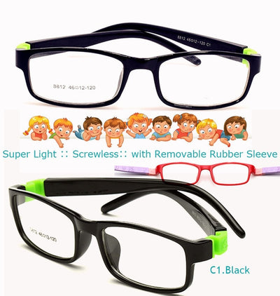 EYExclusive - Anti-Blue Light Glasses - Kid's Edition