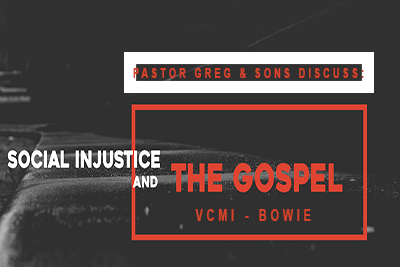Social Injustice and the Gospel (MP3)
