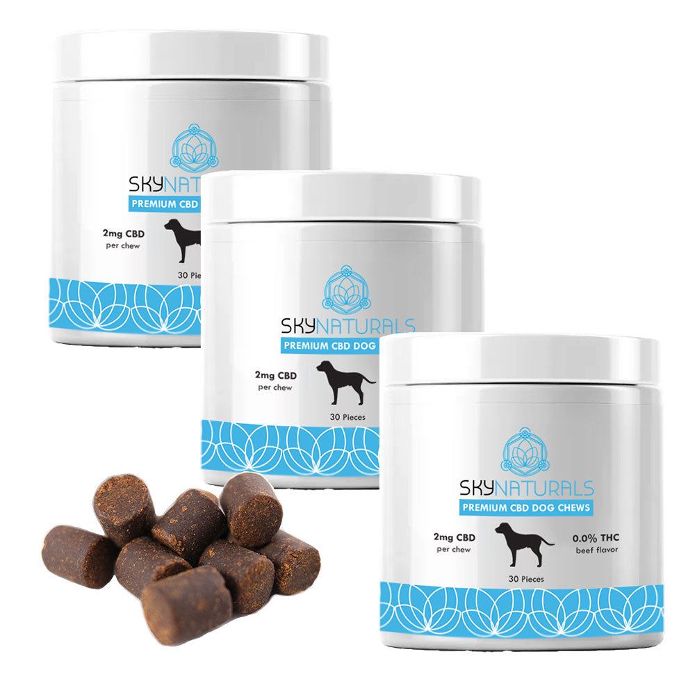 Sky Naturals Dog Chews 3-Pack Bundle