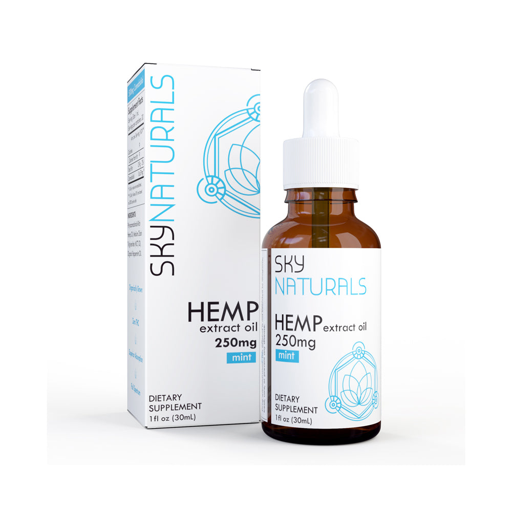 Sky Naturals 1oz Hemp Extract Oil Tincture - 250mg CBD