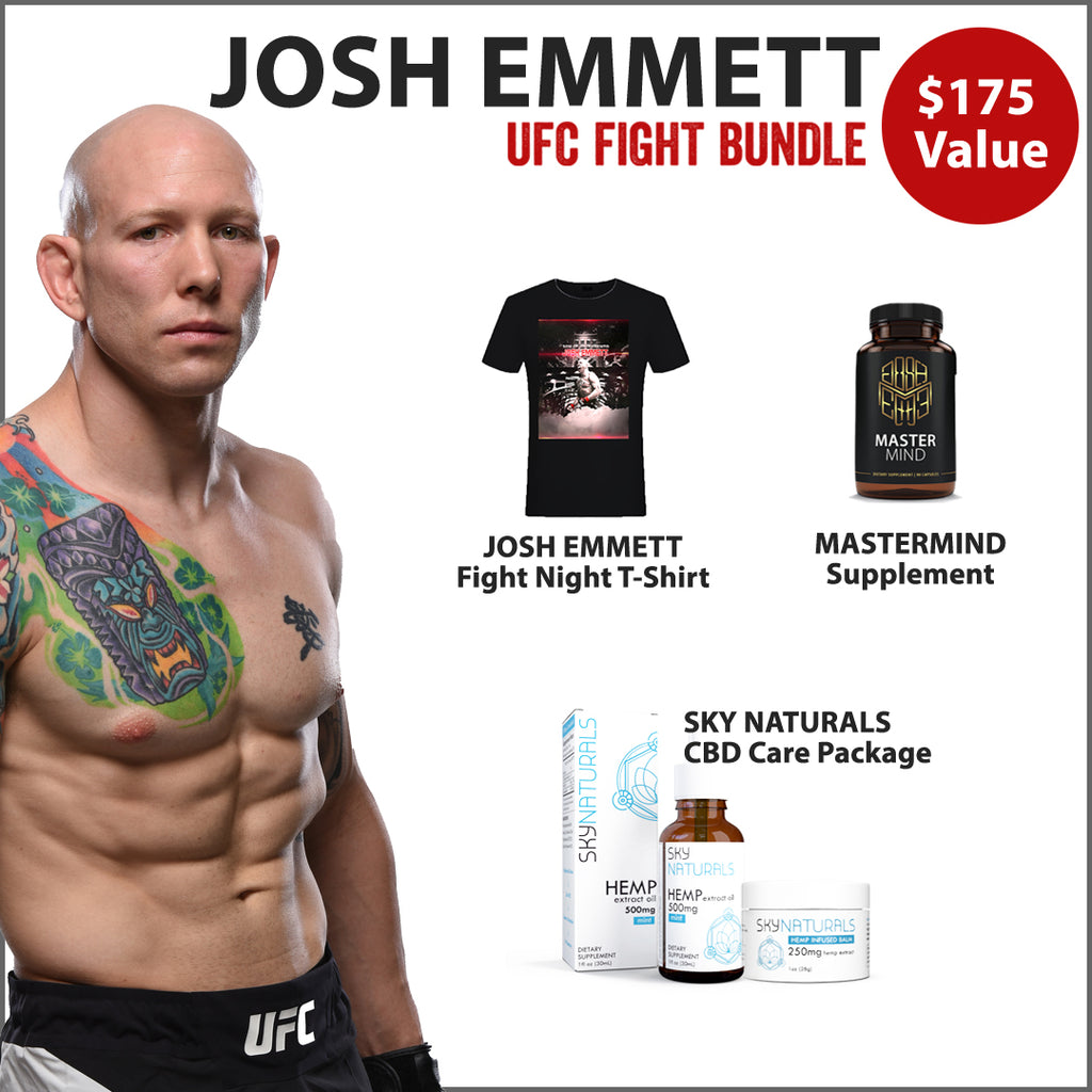 Josh Emmett UFC Fight Night 155 Bundle
