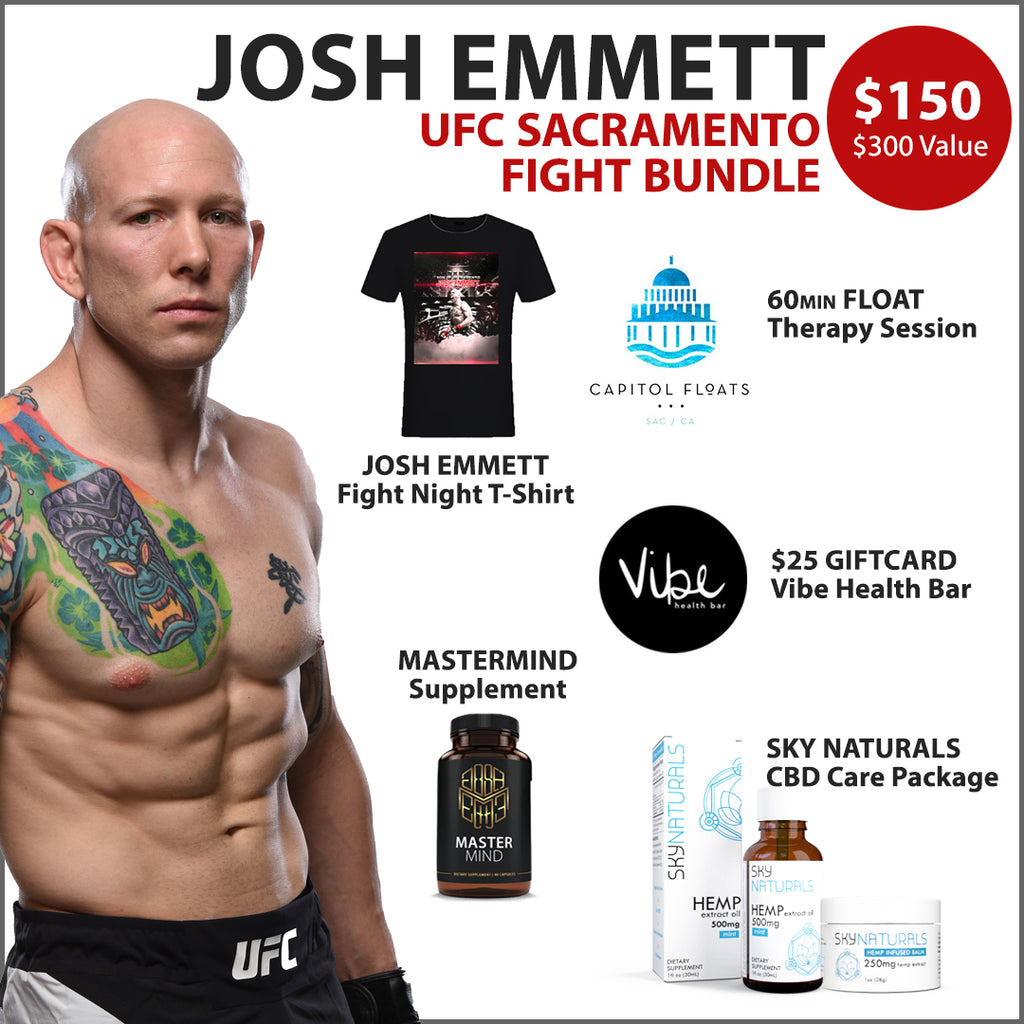 Josh Emmett UFC Sacramento Fight Night 155 Bundle