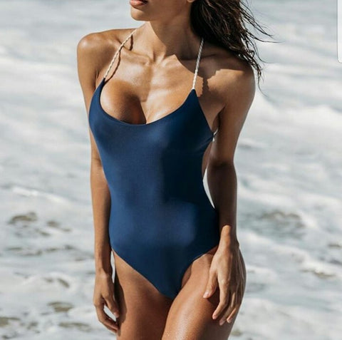 Amoeba One Piece Swimsuit