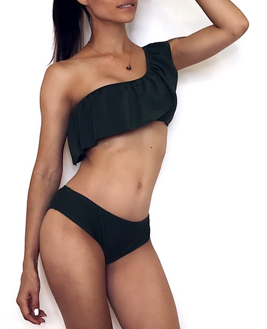 Sexy One Shoulder Beachwear