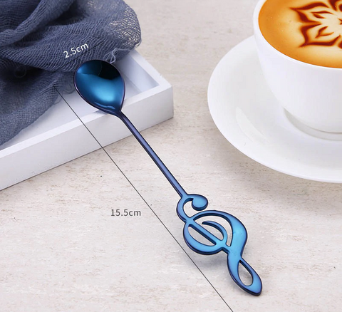 Treble Clef spoon