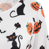 Image of Pumpkin Printed Party Mini Dress