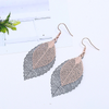 Image of Luxury Vintage Leaves Drop Earrings