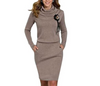 Image of Ombriano Fashion Knitted Dress