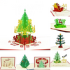 Image of Merry Christmas Pop UP Cards with envelope stickers