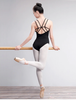 Image of Leotards Straps Gymnastics Ballerina Bodysuit