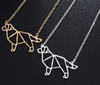 Image of Winsome necklace for Dog lovers