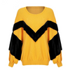 Image of Trendy Selena Batwing sleeve loose pullover