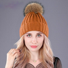 Image of Warm Natural Raccoon Fur Headgear