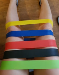 Latex resistance bands for Strength training