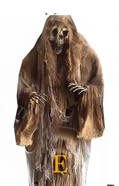 Horror Hanging Ghosts Haunted House- 5 Feet(160 cm) tall