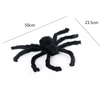 Image of Halloween Horrible Big Black Furry Spider
