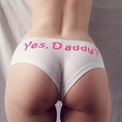 Yes daddy!!! Sexy Panties
