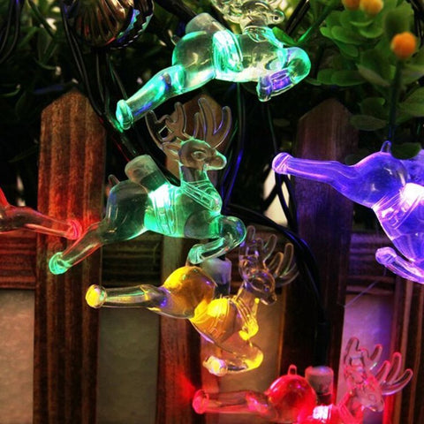 Waterproof LED Deer Solar Powered Light