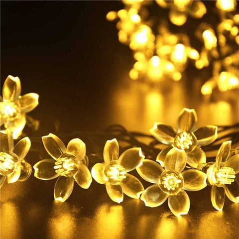 LED String Solar Garlands Fairy Lights