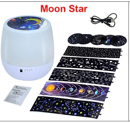 Star night sky light projector