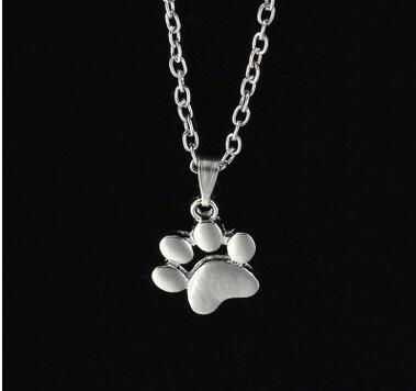 Paw Necklace for winter Wardrobe