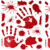 Image of Bloody HAND PRINT Stickers