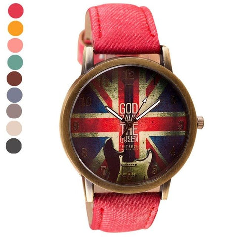 Classic Pattern Vogue Wrist Watches