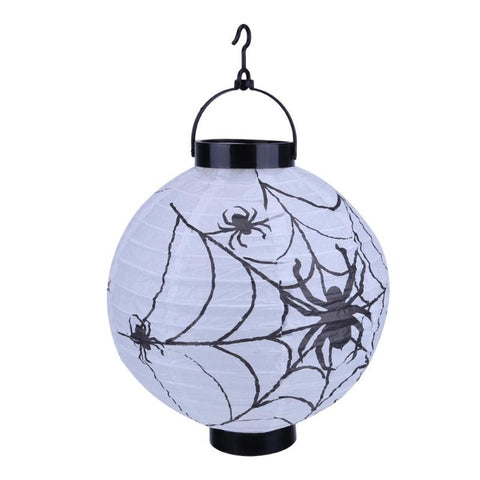 LED Paper Pumpkin Hanging Lantern