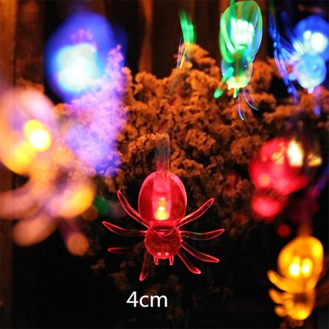 Hanging LED Halloween Ghost/Spider/Skull