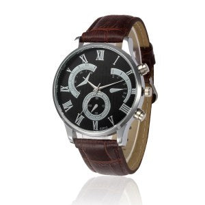 Retro Leather Quartz Wrist Watch