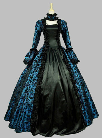 Georgian Period Masquerade Ball Gown