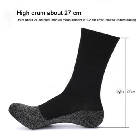 Aluminized Winter Heat Fibers Insulation Socks