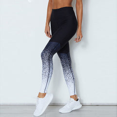 Gradient Print pencil Pants