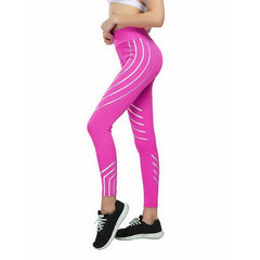 Glowing Rainbow fitness leggings