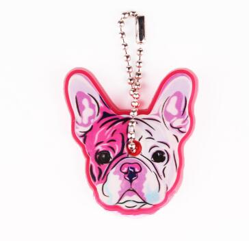 Cute Silicone Dog Key-chain