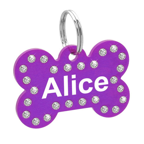 Free Engraving DOG ID Tags