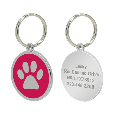 Free Engraving Cat ID Tags