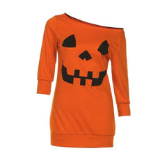 Cold Shoulder Pumpkin Costume