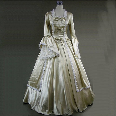 18th Century historical Masquerade Dress