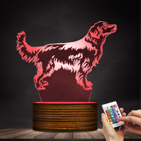 Customized Dog name LED Desk Lamp