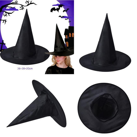 Black Witch Hats Props