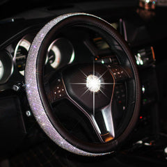 Rhinestones Crystal Car Steering Wheel