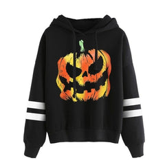 Round Neck Halloween Casual Tops