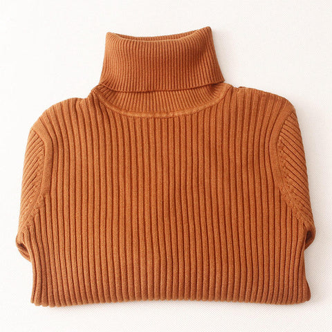 Turtleneck Knitted Pullovers
