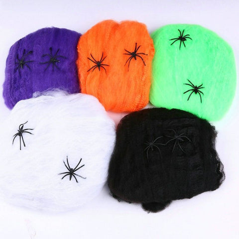 Halloween Scary Spider Cobweb For Bar Haunted House