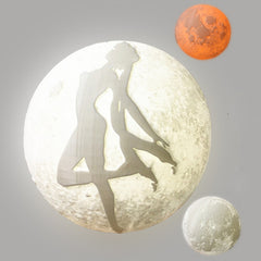 3D Printing Anime Figure Moon Lamp