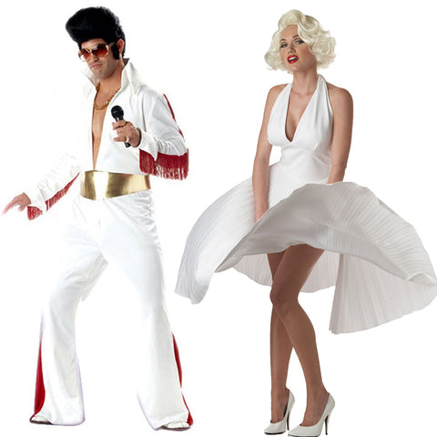 1950's Elvis Presley and Marilyn Monroe Cosplay
