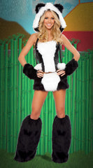 Panda Girl Furry Costume