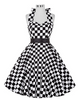 Image of Polka Dots Hepburn Pin Up Rockabilly Dress